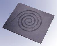 Clearlight Audio RDC Bodenplatte für Thorens  TD145, TD146, TD160 &  TD166