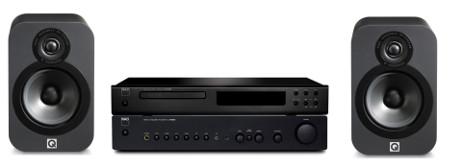 NAD C316BEE / NAD C516BEE / Q-Acoustics 3020