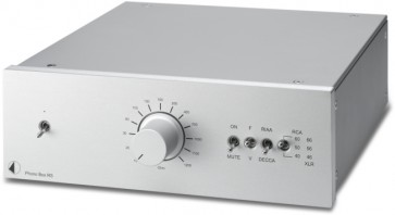 Pr-Ject Phono-Box RS in silbern