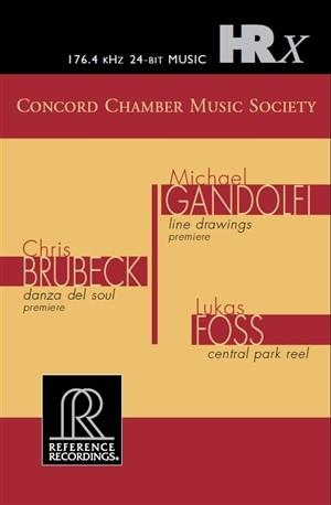 Concord Chamber Music Society – Gandolfi / Brubeck / Foss