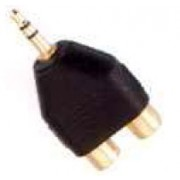 PhonoPhono Adapter Cinch auf 3.5mm Klinke
