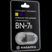 Nagaoka BN-7 - Schraubenset für Tonabnehmer