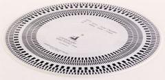 ClearAudio Stroboskop-Schallplatte