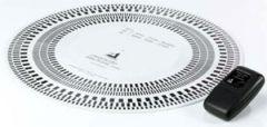 ClearAudio Stroboskop-Platte mit Strobelight Set