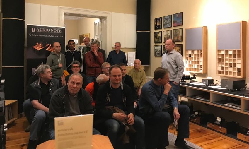 Kondo AudioNote - Vorführung mit Benjamin Schmieding vom Bemax-Vertrieb